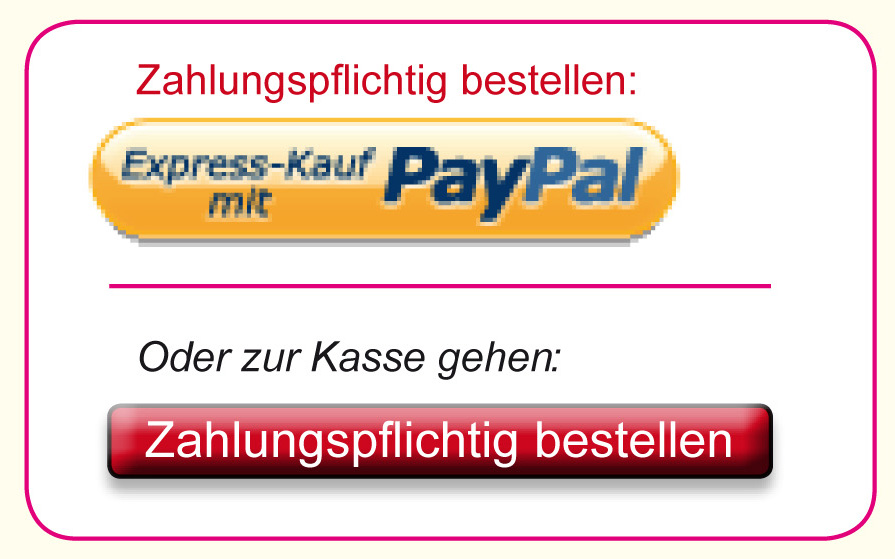 """Webshop Buttons """"Zahlungspflichtig bestellen"""""""