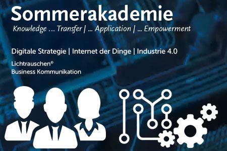 Sommerakademie Industrie 4.0