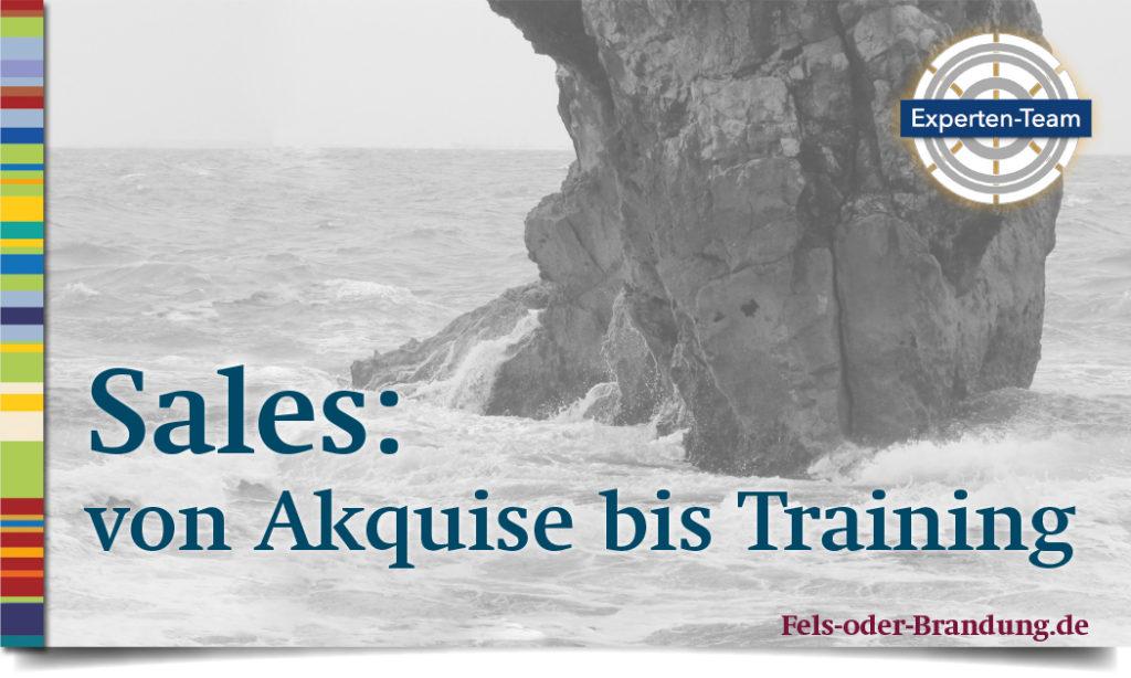 Sales / Vertrieb von Akquise bis Training