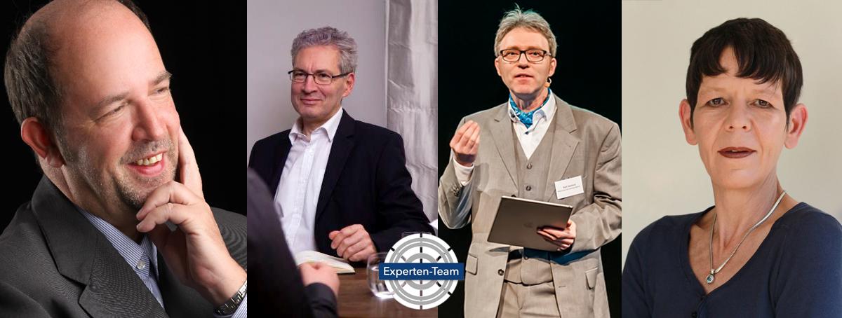 Business Experten Team von links H. Scheuerlein F. Schach R. Hasford C. Blume